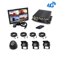 4G HD TRUCK AND BUS CAMERA SYSTEM