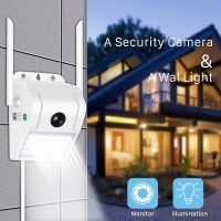 **NEW** Full HD Outdoor WiFi Camera with LED Spot light and 2-Way Audio