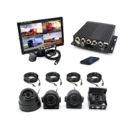 4 CHANNEL 720P TRUCK and BUS Camera KIT (WAS | R5400)
