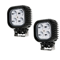 40W 5-INCH SQUARE LED SPOT / WORK LIGHT (SET)