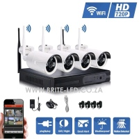 4 Channel 720P HD WiFi NVR CCTV SYSTEM (WAS | R3999)
