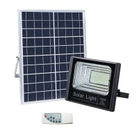 100W SMD SOLAR LED FLOOD LIGHT (BLACK)