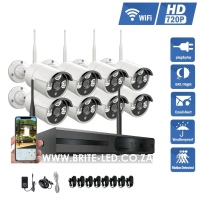 8 Channel 720P HD WiFi NVR CCTV SYSTEM (WAS | R5200)