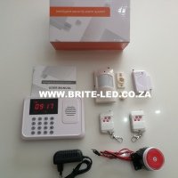 Intelligent Wireless Security Alarm System