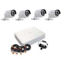 Hikvision 720P HD 4 Channel Turbo HD CCTV DIY KIT