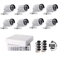 Hikvision 720P HD 8 Channel Turbo HD CCTV DIY KIT